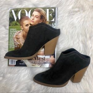 DV By Dolce Vita Grey Ankle Heel Booties